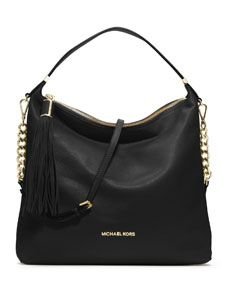 MICHAEL Michael Kors  Large Weston Pebbled Shoulder Bag