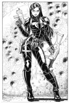 The Baroness by Art Adams