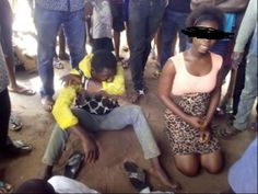 Welcome To Chitoo's Diary.: Check out What Mob Did To This Man For Raping An I...