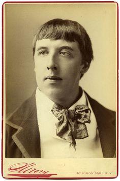 Napolean Sarony, Oscar Wilde, 1883 Rare close-up portrait of the infamous Irish writer and poet Oscar Fingal O'Flahertie Wills Wilde