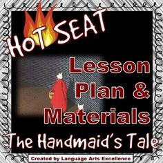 """The Handmaid's Tale """"Hot Seat! A Handmaids Tale, Margaret Atwood, Future Classroom, Authors, Novels, Language, Teaching, Thoughts, How To Plan"""
