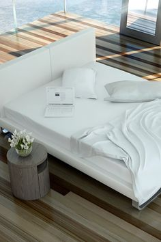 Chelsea Bed - White on HauteLook
