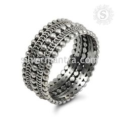 Handmade Sterling Silver Ring Jewelry