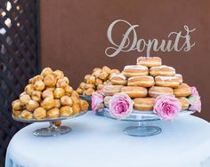 Have a dessert table instead of a cake! | 37 Ways to Trim Thousands Off Your Wedding | The Wedding Shoppe
