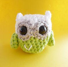 Crochet Owl by annemariesbreiblog on Etsy, €6.50