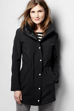 Women's Softshell Parka from Lands' End
