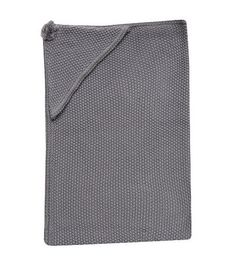 Lambs & Ivy Signature Hooded Blanket - Charcoal