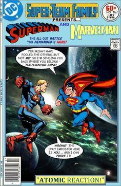 Superman vs Marvelman