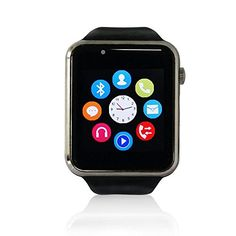 "YUNTAB Smartwatch W10 pantalla LCD 1.54"" (240x240), Bluetooth 3.0 ,SIM tarjeta ,con cámara, smartphone Android Samsung S2/S3/S4/Note 2/Note 3 HTC Nokia IOS Apple iphone 4/4S/5/5C/5S/6 #iphone #blogtecnologia #tecnologia"