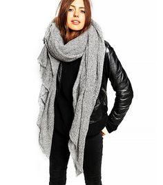 ASOS Oversize Knit Scarf