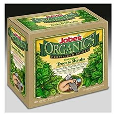 Jobe's Organic Tree Fertilizer Food Spikes - 10 Pack #1260