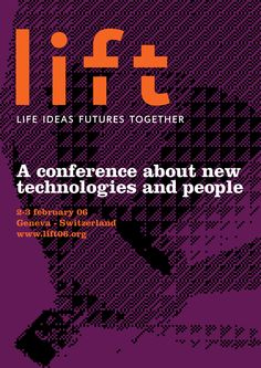 Lift conference poster 2006.