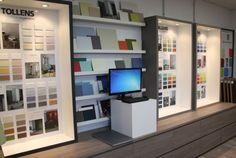 04/02/14--07:56: ¡Nuevo producto! Exhibition Room, Retail Concepts, Display Design, Showroom, Bookcase, Shelves, Flooring, Interior Design, Studio