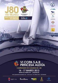 España: VI Copa S.A.R. Princesa Alexia de J80.