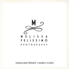 March 14 Logo | The Dear Miss Modern Logo-A-Day Project: one new logo designed every day for the month of March. For sale in the Dear Miss Modern Shop. #Logo Design
