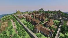 Town render