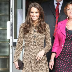 Kate Middleton. love her clothes! and hair