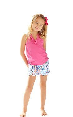 Girls Little Buttercup Short - Lilly Pulitzer