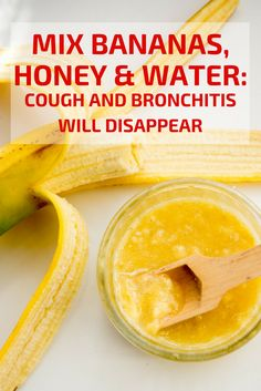 Holistic Health Remedies Bananas, honey, and water for cough and bronchitis Cough Remedies, Holistic Remedies, Natural Health Remedies, Natural Cures, Herbal Remedies, Natural Life, Insomnia Remedies, Sleep Remedies, Natural Remedies