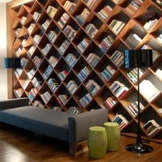 There are so many inventive ways to either stow away or show off your books, and we've got 10 inspiring photos to help you.