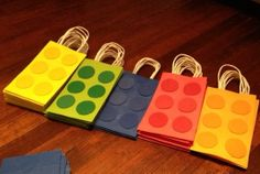 Lego Theme Goody Bags by Zusies on Etsy, $6.75