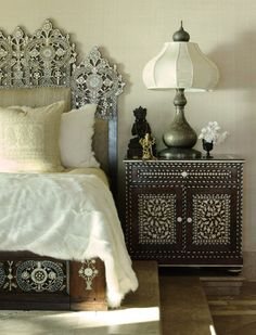 Moroccan inspired headboards   Beautiful Beds: Moroccan Influence