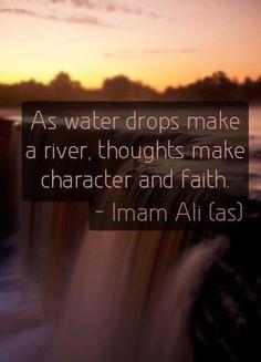 Imam Ali ibn Abī Ṭālib ( AS ) on character ♡