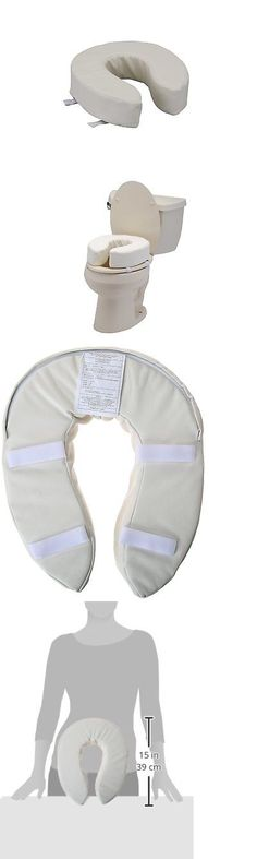 Toilet Seats: Nova Medical Products 4 Padded Toilet Seat Riser -> BUY IT NOW ONLY: $35.56 on eBay!