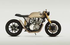 Honda CB750 Cafe Racer 'Mr Hyde' by Classified Moto #motorcycles #caferacer #motos | caferacerpasion.com