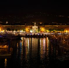 Some cruises leave Nice, France before the sun sets. We think they're doing it wrong.