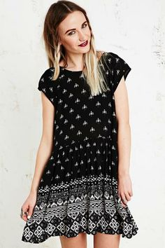 Minkpink Native Nights Dress in Black at Urban Outfitters