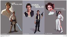 Jorge Molina Star Wars Designs