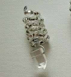 2 Quartz Crystal Hair Beads, Braid & Dread Beads, Dreadlock Jewellery, Hair Jewelry, Locs Hair Bead, Healing Rock Crystals, Dread Schmuck by Dare2beUNIQUE on Etsy Crystal Beads, Quartz Crystal, Glass Beads, Crystals, Dreadlock Jewelry, Hair Jewelry, Jewellery, Dread Beads, Hair Beads