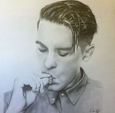 #FanFriday ART by @_.ucb._  @g_eazy #geazy #whenitsdarkout