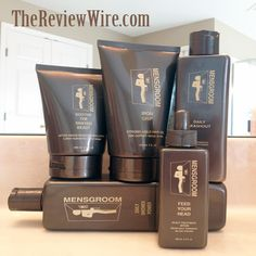Win 5 Full Sized Products from MENSGROOM {RV $52}! Ends 8/27/13