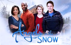"""Watch """"Angles in the Snow"""" Sunday, Nov 22 at 7 PM ET on UPtv."""