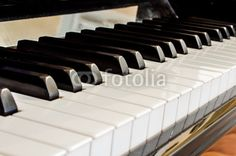 closeup of a #piano #keyboard