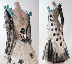 Evening dress ca. 1900