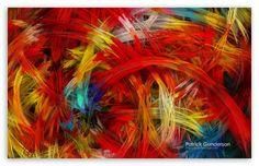 Colorful Digital Painting wallpaper