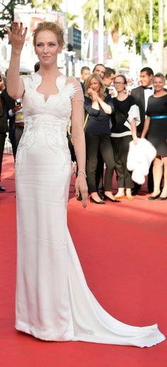 #cannes14 #cannesfilmfestival14 Cannes Film Festival 2014, Celebrity Red Carpet, Bridesmaid Dresses, Wedding Dresses, Celebrities, Fashion, Bridesmade Dresses, Bride Dresses, Moda