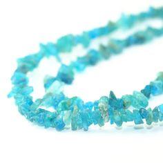 Apatite Rough Crystal Beads 2 Inch Strand by SerendipityGemstones