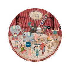 #Londji puzzle my round circus in cartone  ad Euro 19.00 in #Giochi e giocattoli > puzzle #Senza categoria