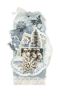It's beginning to look a lot like Christmas…Kaisercraft Frosted whisks you away… Create Christmas Cards, Christmas Gift Tags, Xmas Cards, Christmas Trees, Silent Night, Vintage Ephemera, Craft Items, Christmas Traditions, Bookmarks