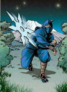 Arte Ninja, Ninja Art, Art Of Fighting, Fighting Poses, Ninja Scroll Anime, Guerrero Ninja, Tim Burton Batman, Ninja Japan, Ninja Shadow
