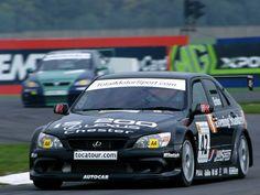 Lexus IS 200 2001 BTCC Thomas Erdos #motorsport #racing #touring #car #motor #sport #passion #toca #tour