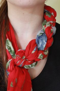 A Step by Step Tutorial on how to Braid a Scarf Braided Scarf d1a641b157