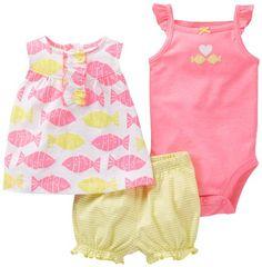 Carters Baby Girls 3-Piece Diaper Set (3 Months, Yellow) Carter's http://www.amazon.com/dp/B00IRJD0M6/ref=cm_sw_r_pi_dp_XXM6tb188VJDZ