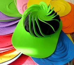 Moldes de gorras en foami paso a paso - Imagui
