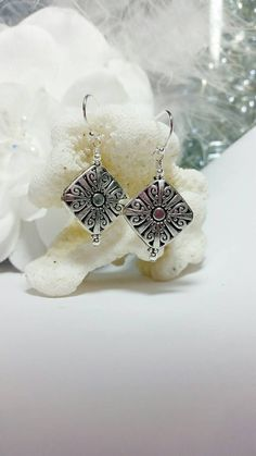 Items similar to Sterling silver, Pewter, and silver plated earrings on Etsy Pewter, Silver Plate, My Etsy Shop, Jewels, Sterling Silver, Trending Outfits, Unique Jewelry, Handmade Gifts, Check