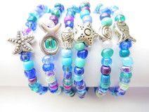 Kinderarmbänder für den Meerjungfrauengeburstag -. trendiges Schmuckstück für kleine Nixen